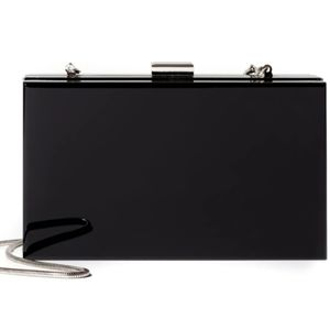 FREE SHIPPING! Rachel Zoe Hard Box Clutch
